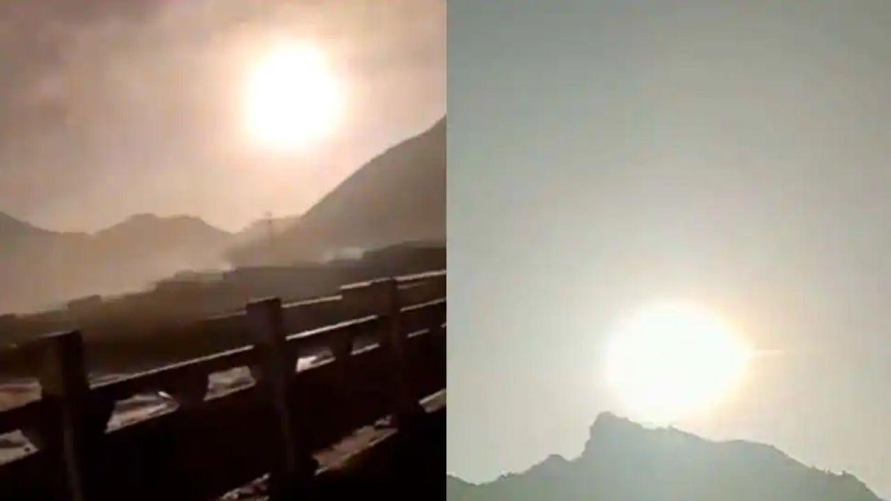 Il video di un meteorite esploso in una 'palla di fuoco' in Cina con una potenza inaudita