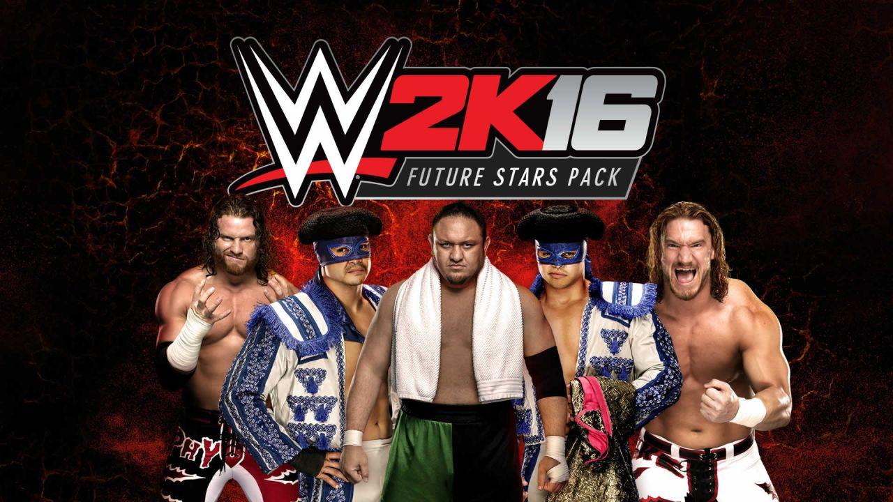 Il WWE 2K16 Future Stars Pack debutterà a fine gennaio
