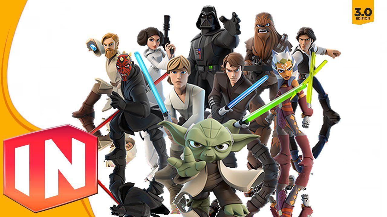 Immagini e dettagli del playset Star Wars Twilight of the Republic di Disney Infinity 3.0