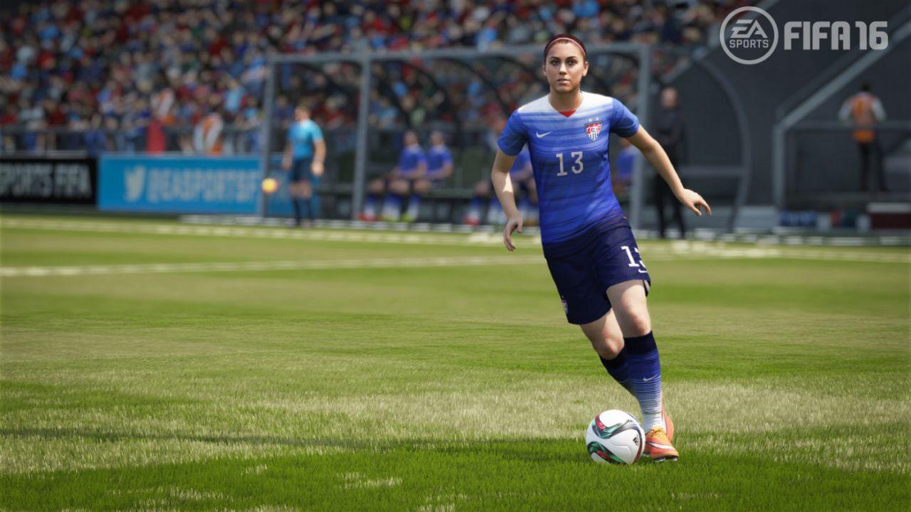 Immagini di FIFA 16 dedicate alle nazionali femminili