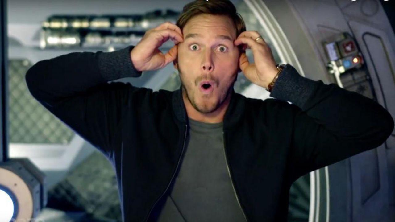 Imprevisto sul set di The Tomorrow War: Chris Pratt trova dei resti umani in un ghiacciaio