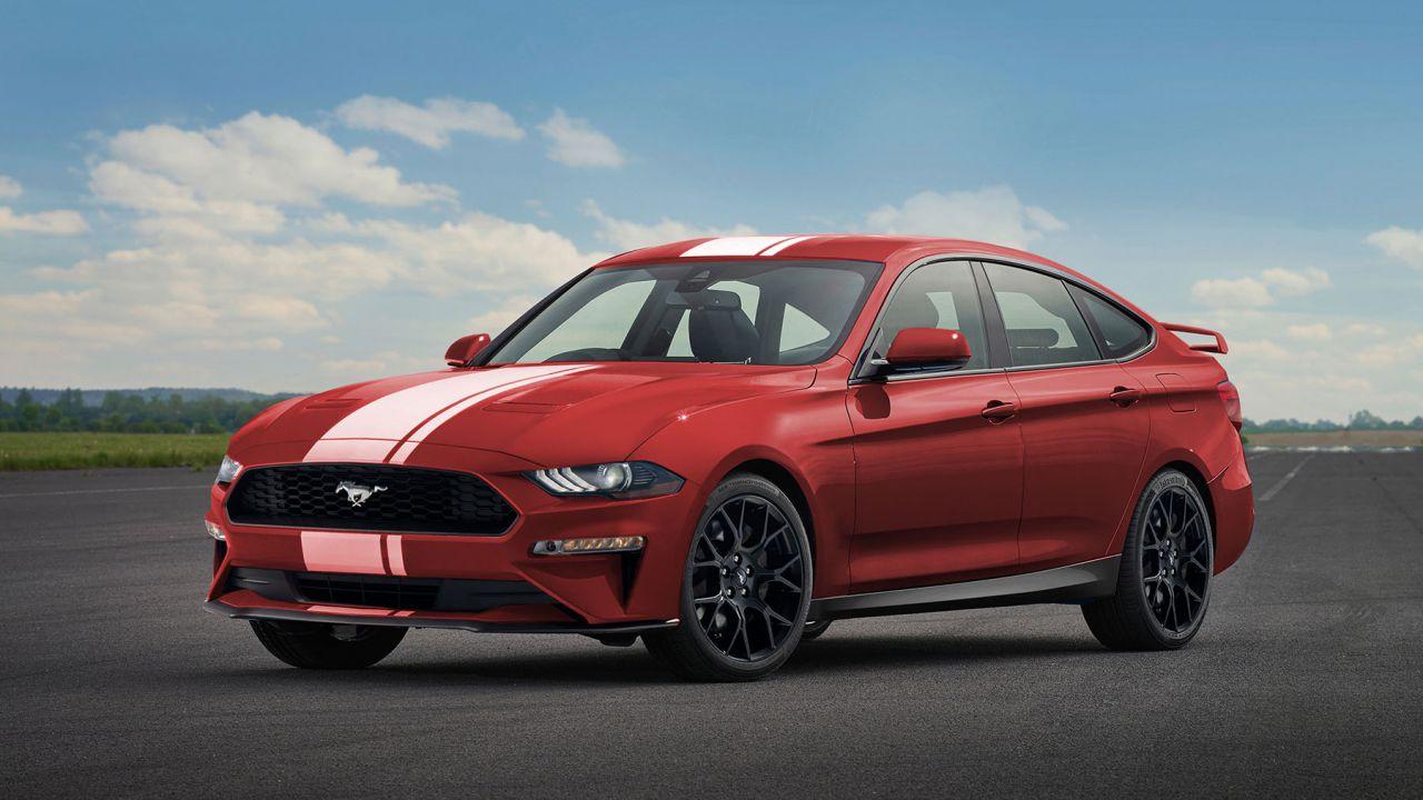 In arrivo una Ford Mustang quattro porte per tutta la famiglia?