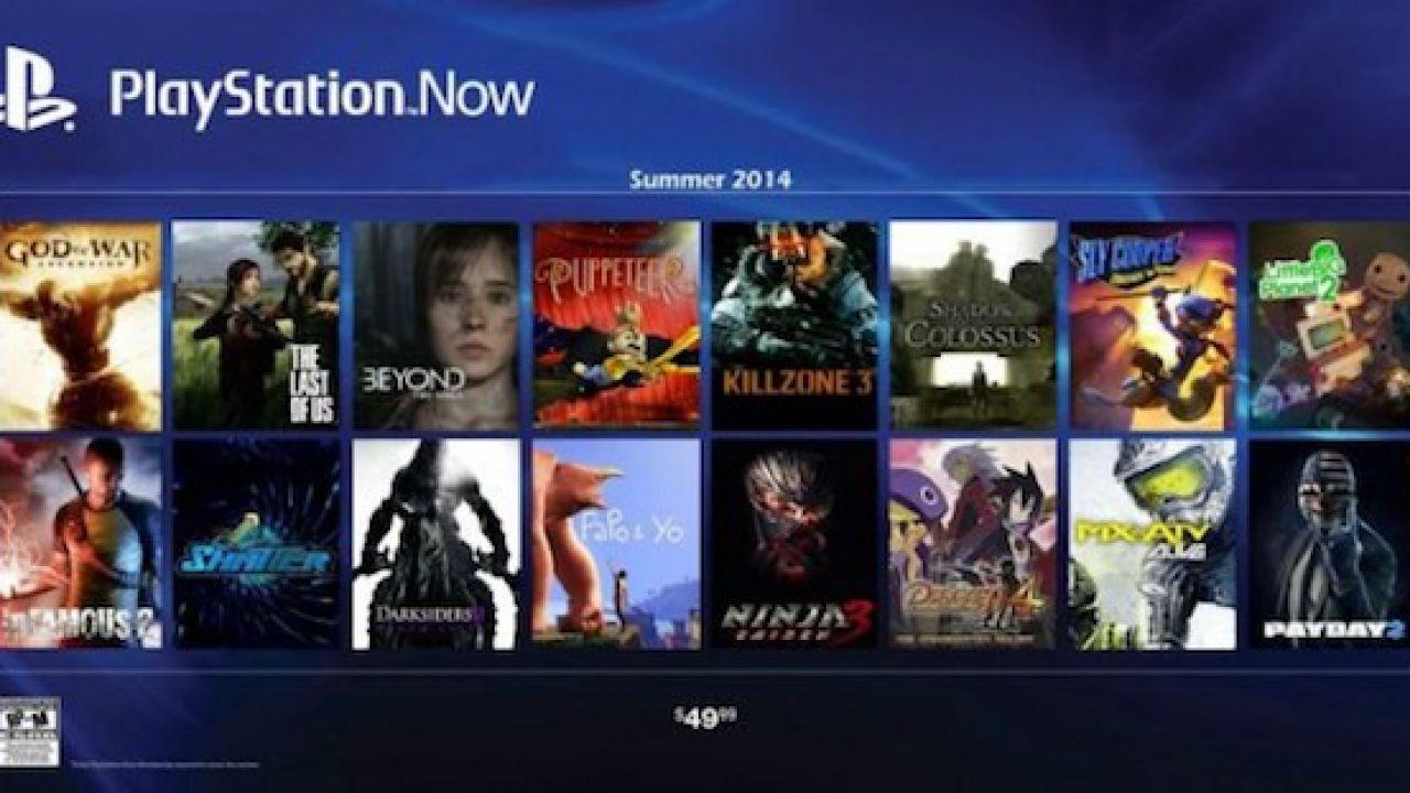 In arrivo nuovi giochi nella libreria del PlayStation Now