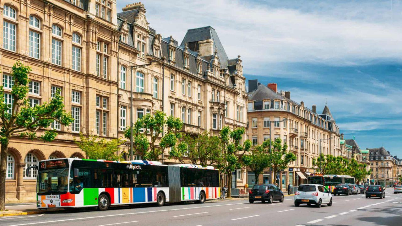 In Lussemburgo i mezzi pubblici diventano gratis: via alla rivoluzione