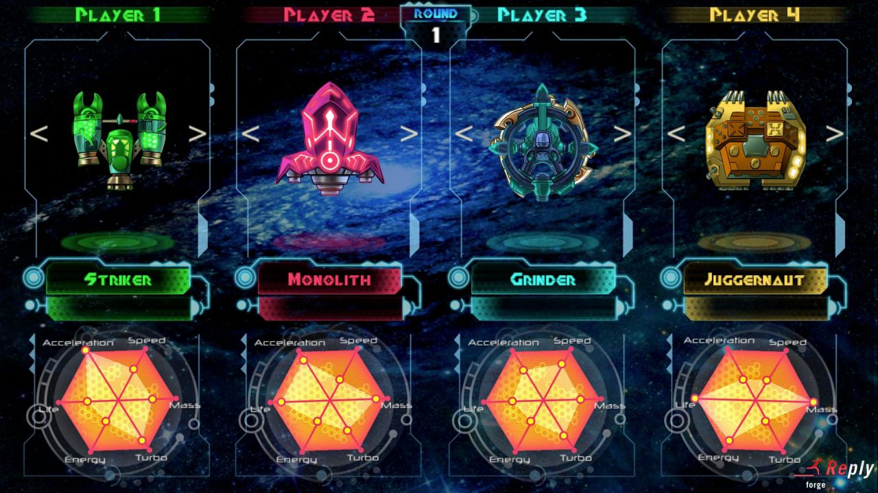 In Space We Brawl: gameplay live dalla Games Week - Replica