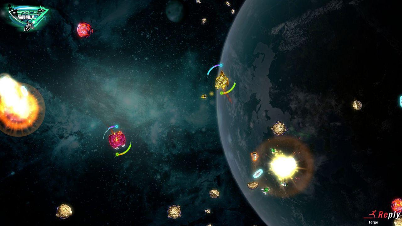 In Space We Brawl: la versione PS4 girava a 680fps