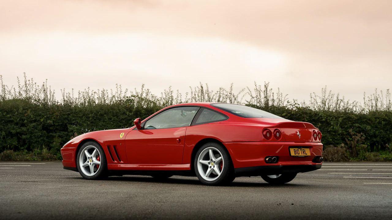 In vendita la Ferrari 550 Maranello appartenuta a Richard Hammond di Top Gear