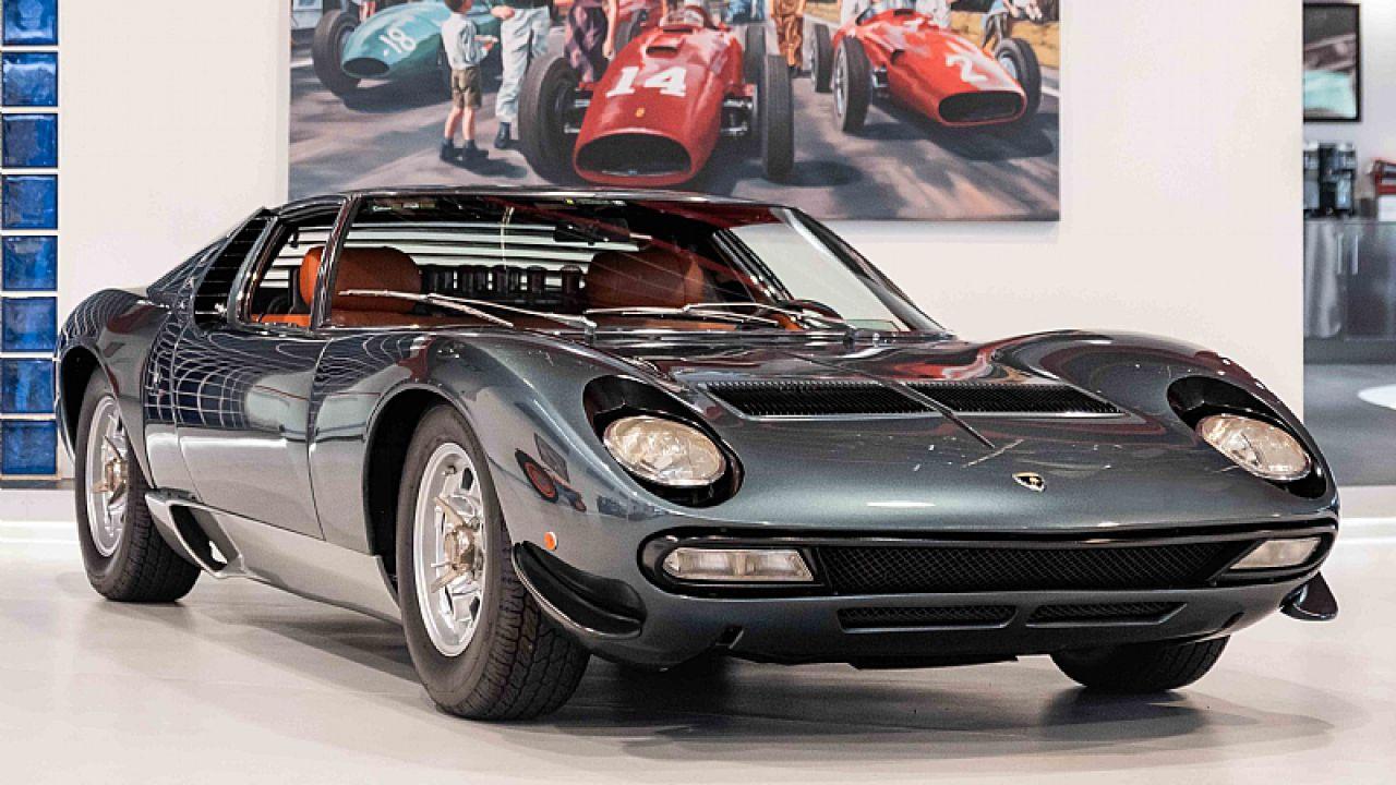 In vendita la Lamborghini Miura SV con meno chilometri percorsi in assoluto