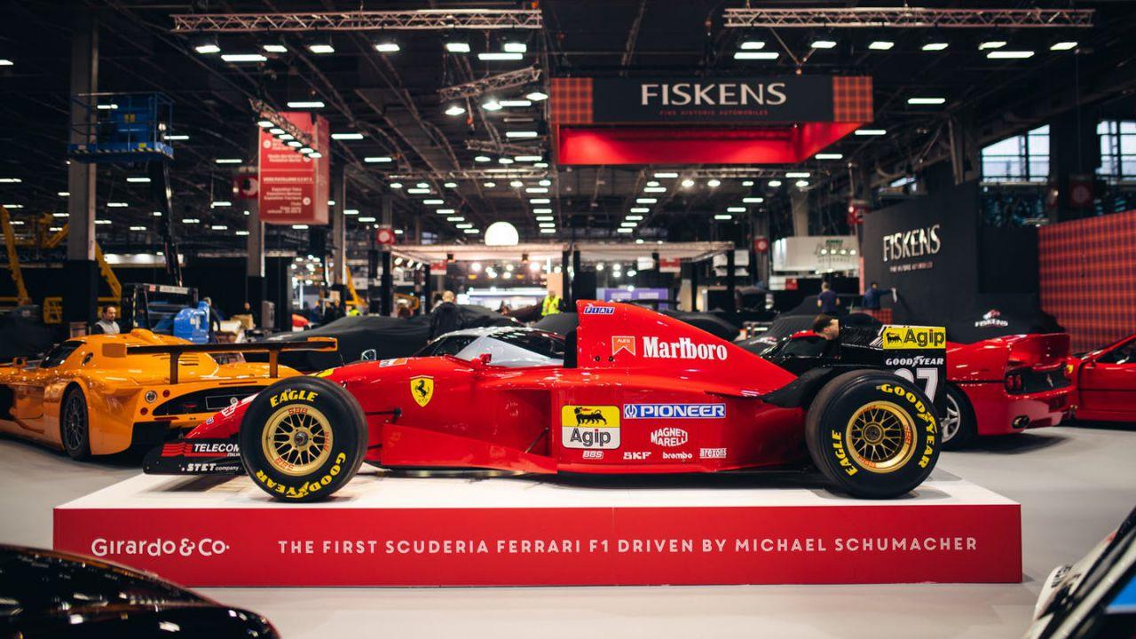 In vendita la prima monoposto Ferrari da F1 di Michael Schumacher