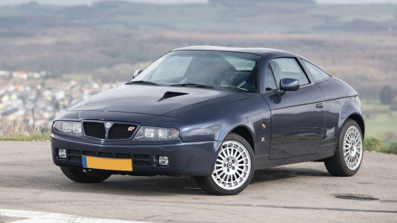 In vendita una rara Lancia Hyena Zagato basata sulla Delta Integrale