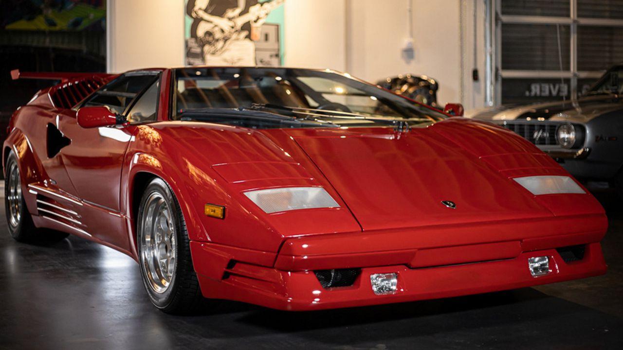 In vendita una rarissima Lamborghini Countach 25th Anniversary Edition