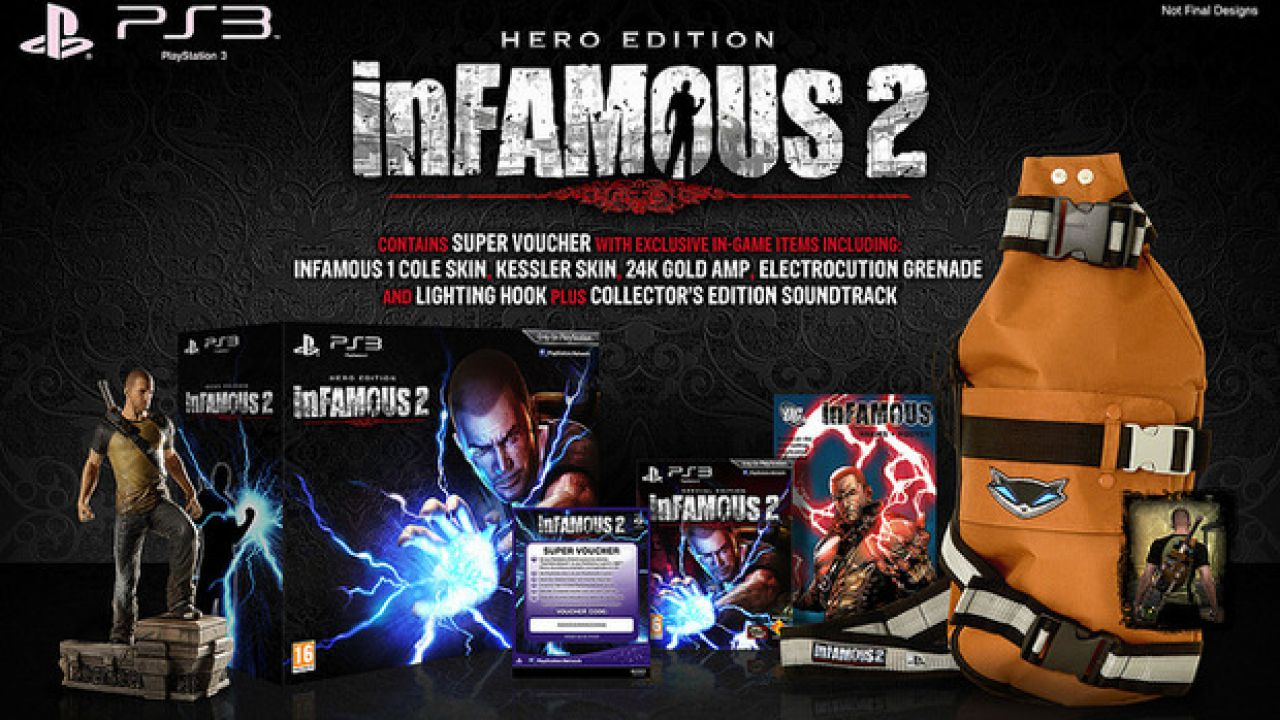 InFamous 2: poteri differenti in base al pre-ordine
