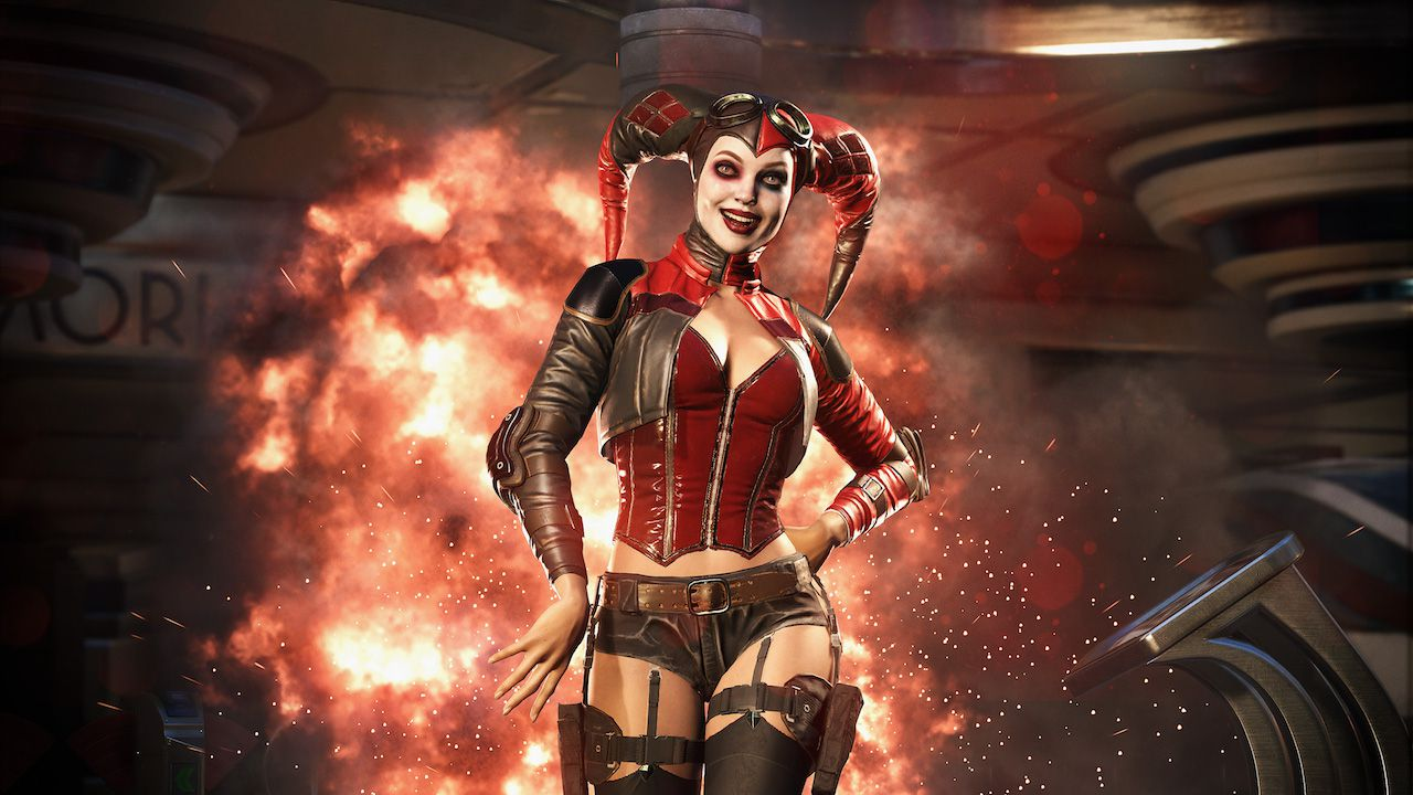Injustice 2: Video di gameplay con Harley Quinn, Wonder Woman e Blue Beetle