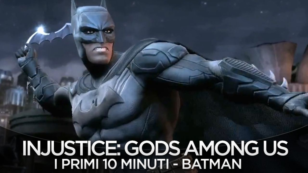 Injustice: Gods Among Us, annuncio in arrivo