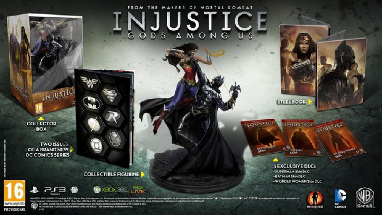 Injustice: Gods Among Us - Martian Manhunter è il prossimo DLC