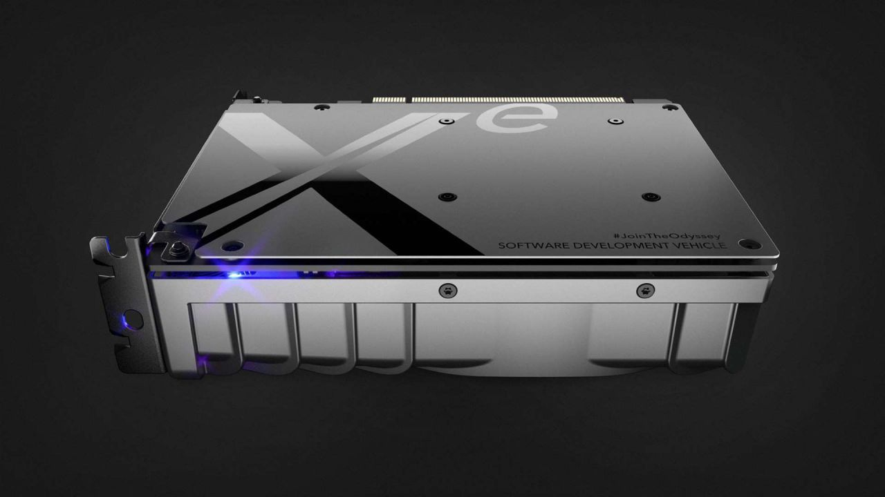 Intel pubblica una foto di un chip: in arrivo una GPU Xe dedicata?