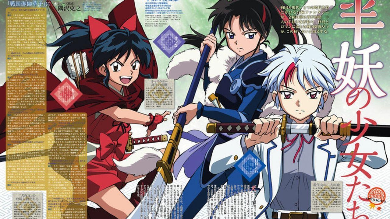 Inuyasha Yashahime: anche Rumiko Takahashi dice la sua sull'anime sequel