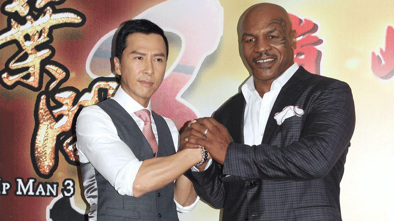Ip Men 3, quando Donnie Yen ruppe un dito a Mike Tyson