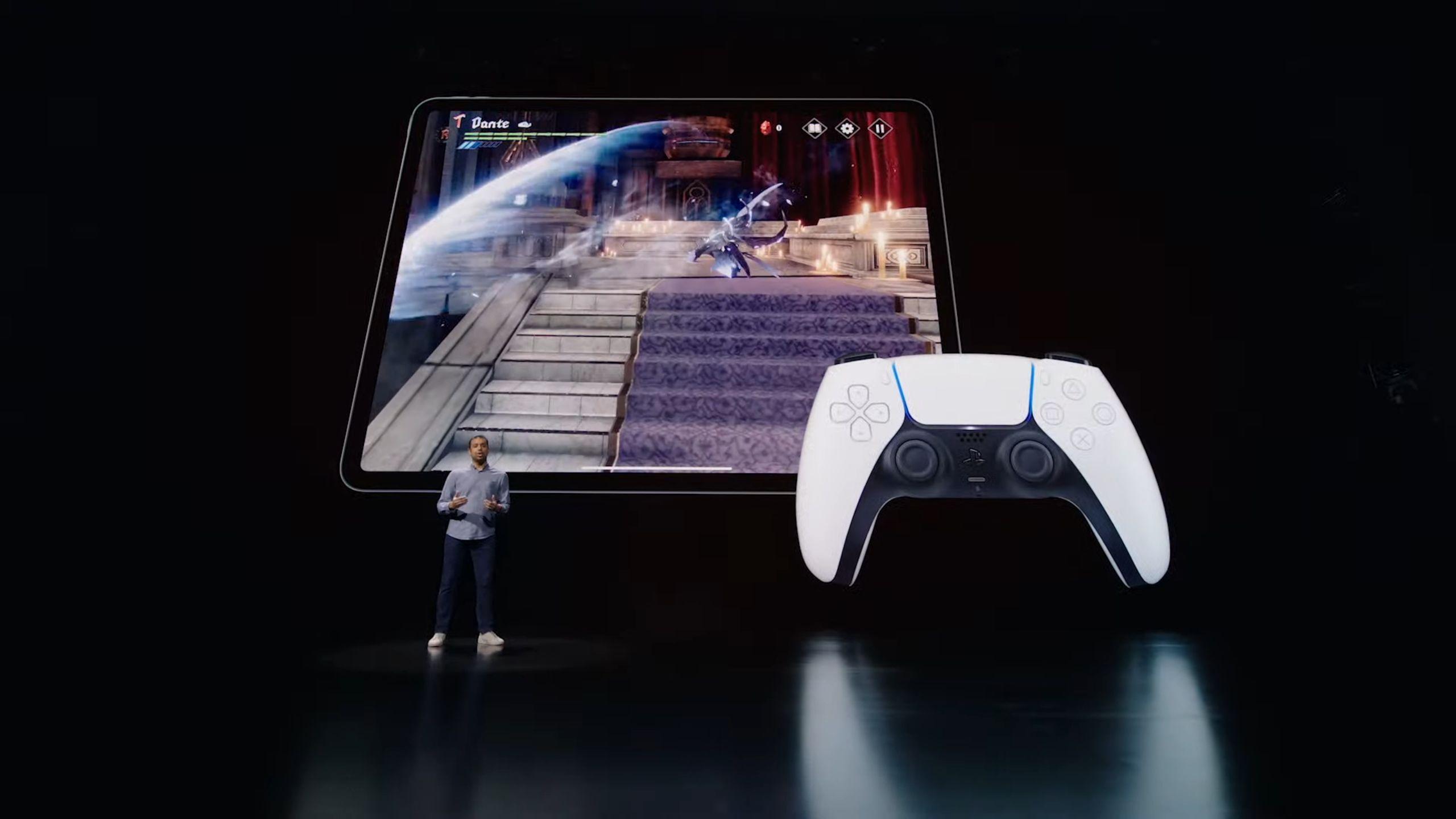 iPad PRO M1 supporta il feedback aptico del DualSense ...