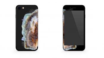 iPhone 7 diventa un Galaxy Note 7 esploso grazie a una skin