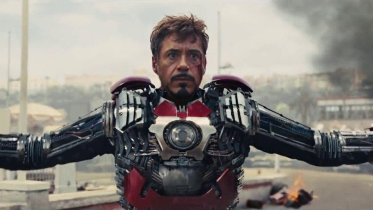Iron Man 2, il costume portatile di Tony Stark doveva essere molto più dark: ammiratelo