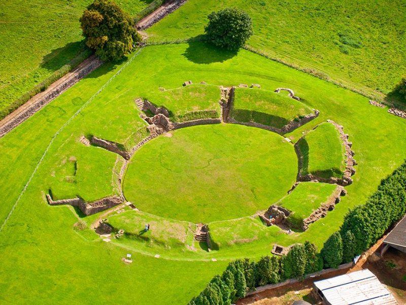 Isca Augusta: ecco l'antico forte usato dalla legioni romane nel Galles