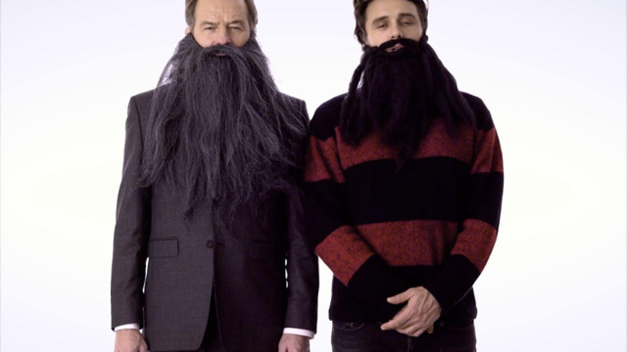 James Franco e Brian Cranston in un simpatico video contro il cancro