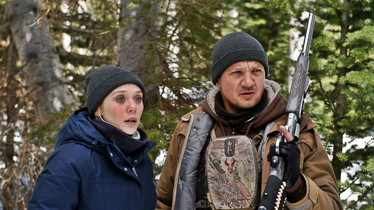 Jeremy Renner nel poster di Wind River di Taylor Sheridan