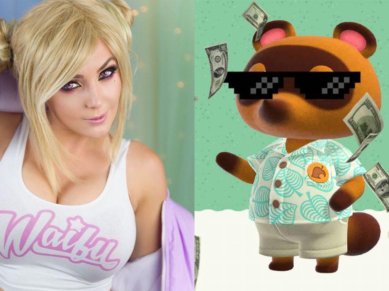 Jessica Nigri adora Animal Crossing: ecco il suo sexy cosplay di Tom Nook