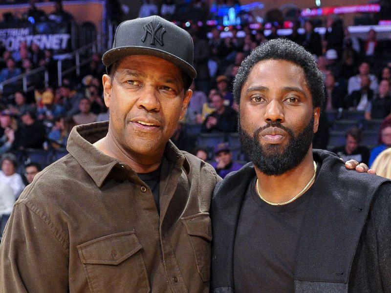 John David Washington ricorda un momento commovente con il padre Denzel sul set