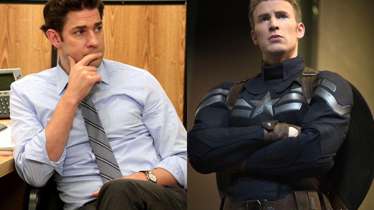 John Krasinski ancora ironico su Chris Evans: 'Ora puoi ripagarmi per Captain America'