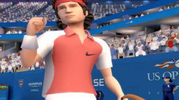 John McEnroe, Roger Federer e Serena Williams per EA SPORTS Grand Slam Tennis