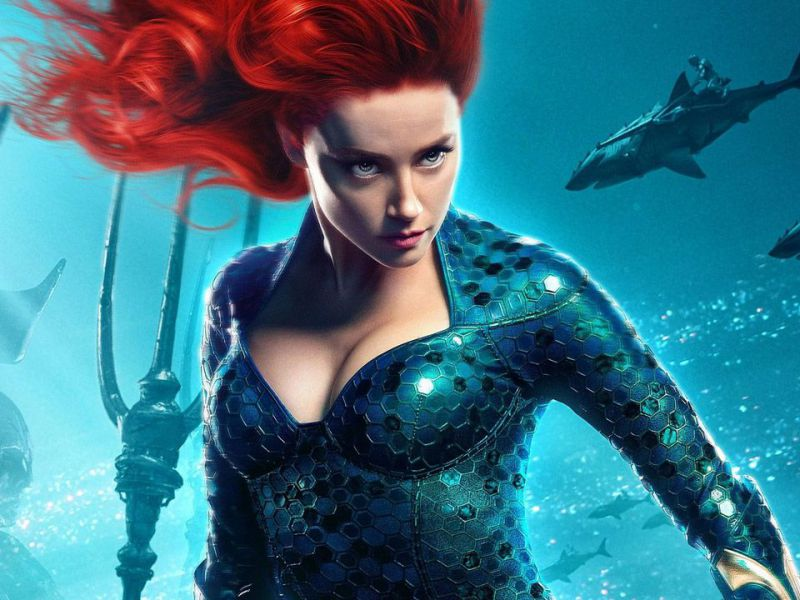Johnny Depp diventa Mera al posto di Amber Heard nell'esilarante deepfake di Aquaman!
