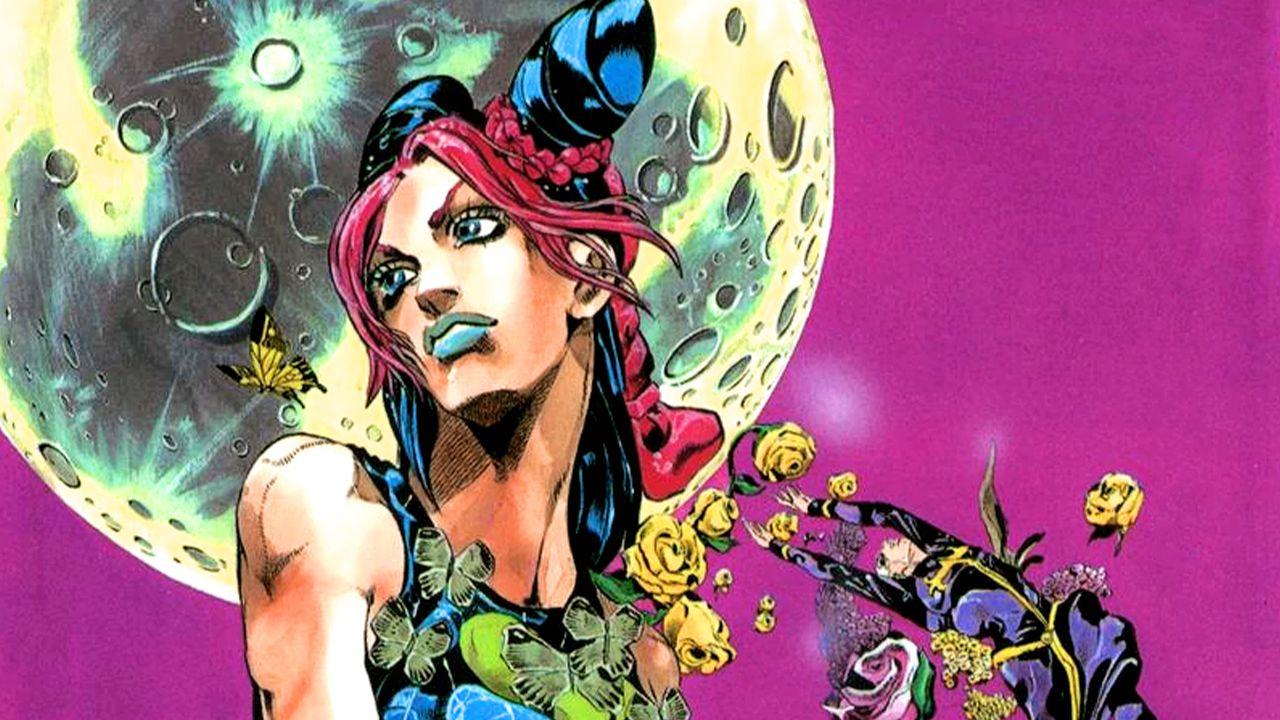 JoJo: Stone Ocean, Jolyne e Stone Free in posa in questo originale cosplay