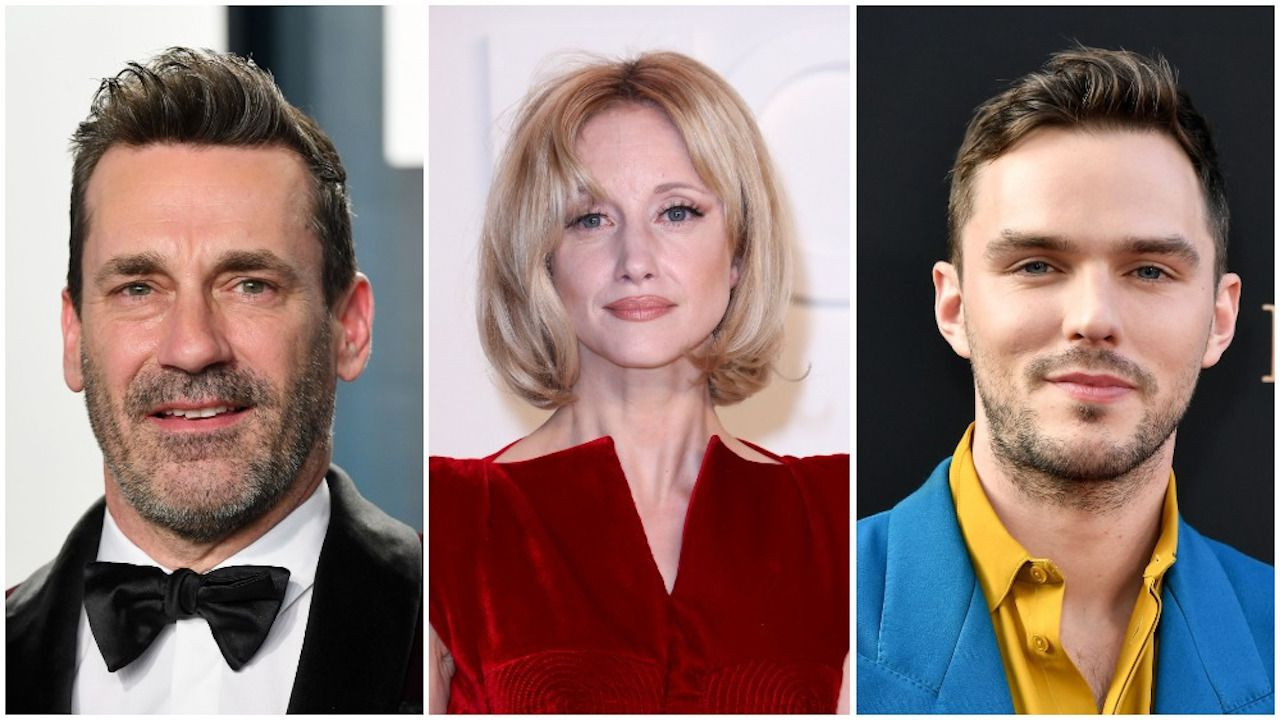 Jon Hamm, Andrea Riseborough e Nicholas Hoult nel cast di Alpha Gang: tutti i dettagli