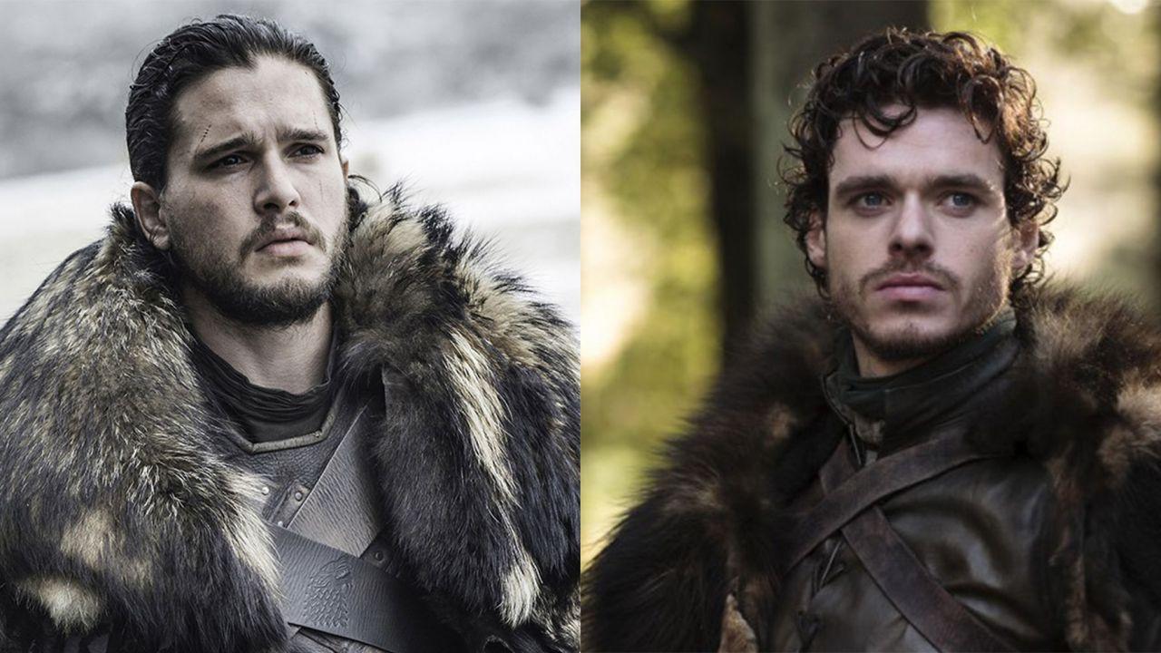 Jon Snow e Robb Stark finalmente di nuovo insieme sul set de Gli Eterni
