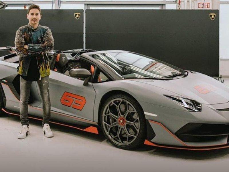 Jorge Lorenzo ha acquistato la Lamborghini Svj 63 Roadster numero 0 per un prezzo folle