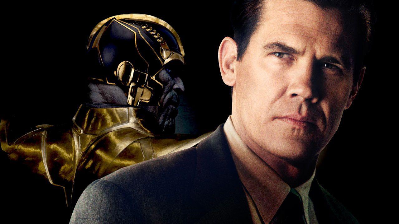 Josh Brolin è Thanos sul set di Avengers: Infinity War!