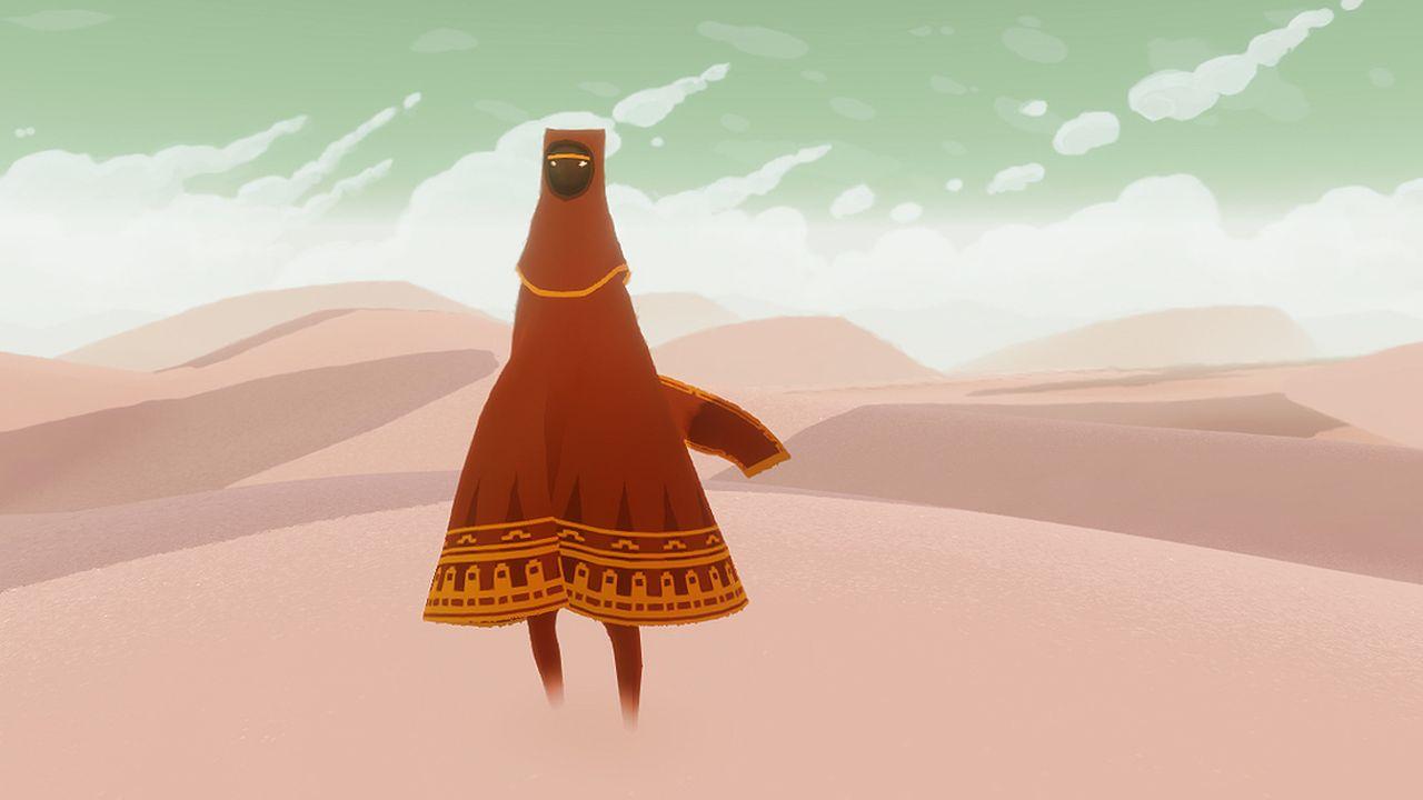 Journey: versione PS3 e PS4 a confronto