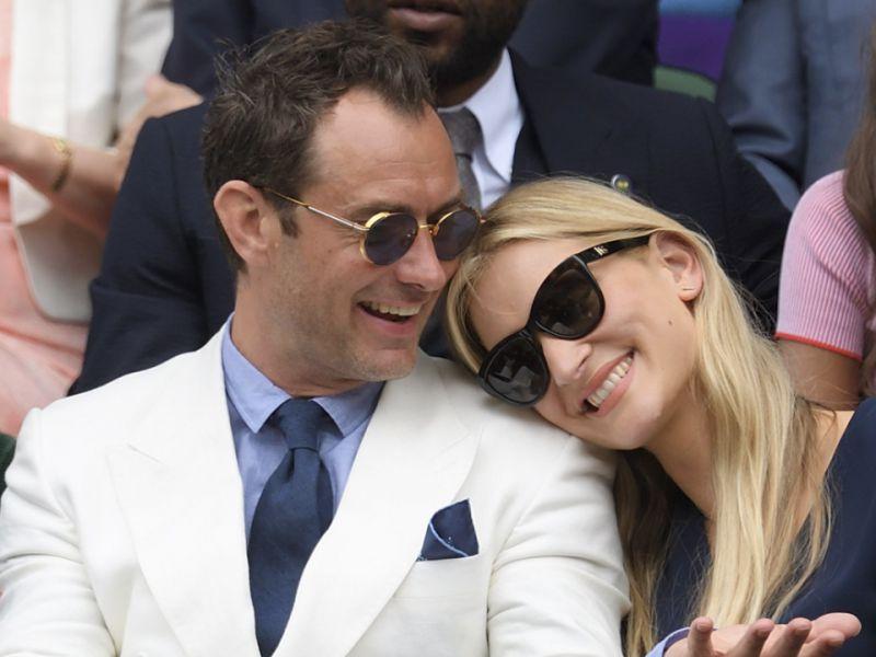 Jude Law papà per la sesta volta: la moglie Philippa è in dolce attesa