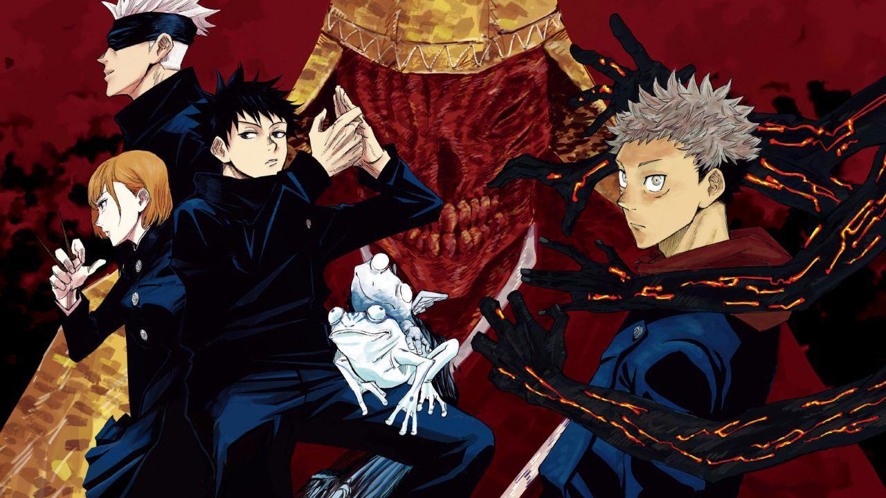 Jujutsu Kaisen: nuova key visual per l'anime in uscita ad ottobre