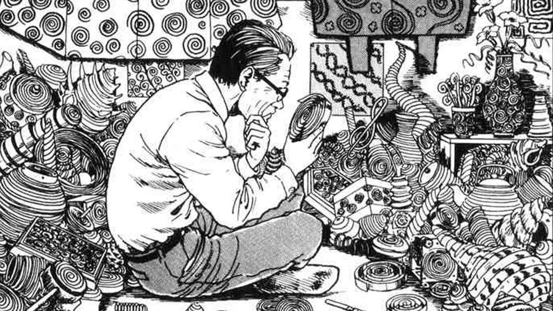 Junji Ito The Famous Artist Talks About Cats And His Work In An Unpublished Interview Anime Sweet