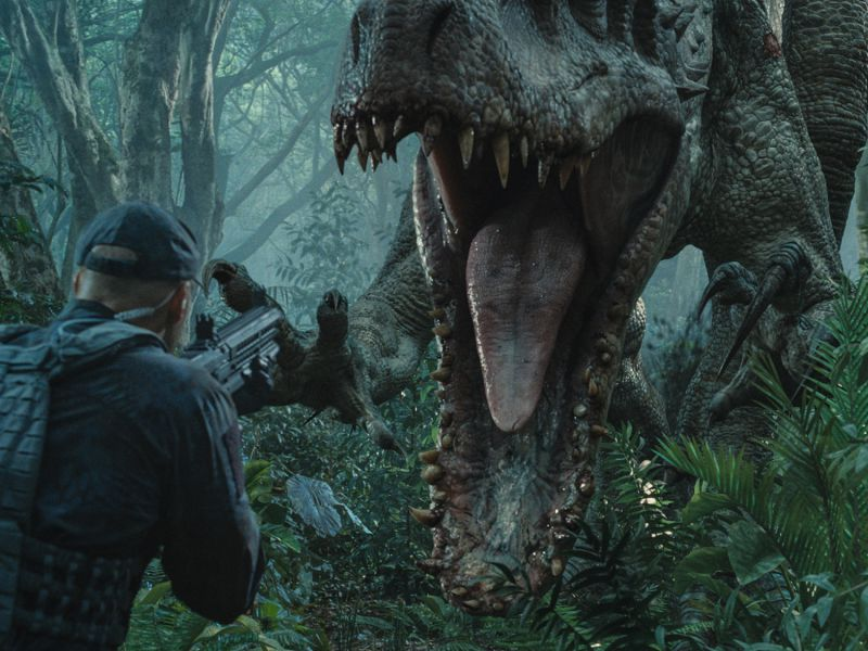 Jurassic World, c'era un altro Dinosauro ibrido nel primo film: lo rivela un concept art