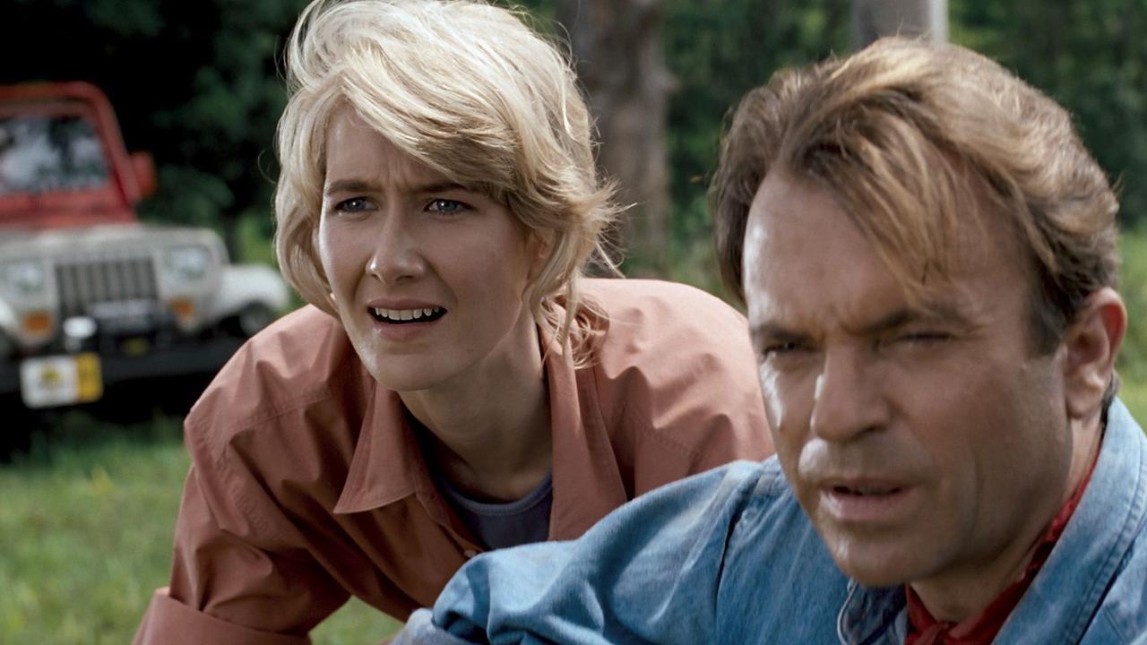 Jurassic World: Dominion, Laura Dern e l'emozionate ritorno sul set: le foto