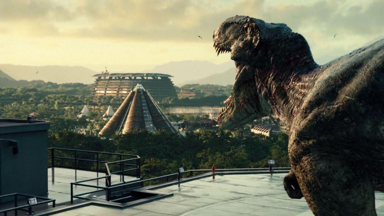 Jurassic World: online nuovi concept art alternativi dei dinosauri e del parco