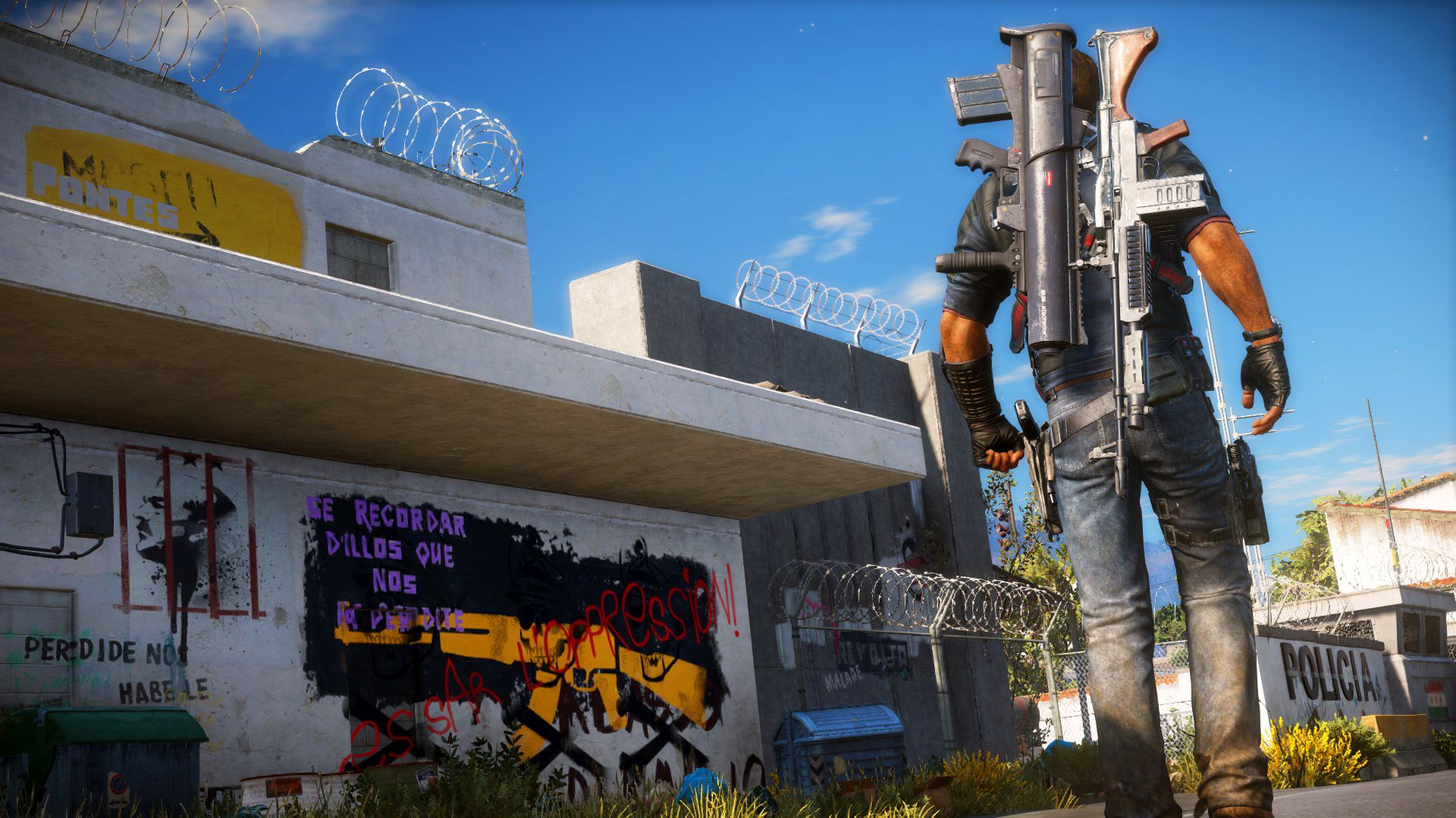 how to play just cause 3 offline xbox one
