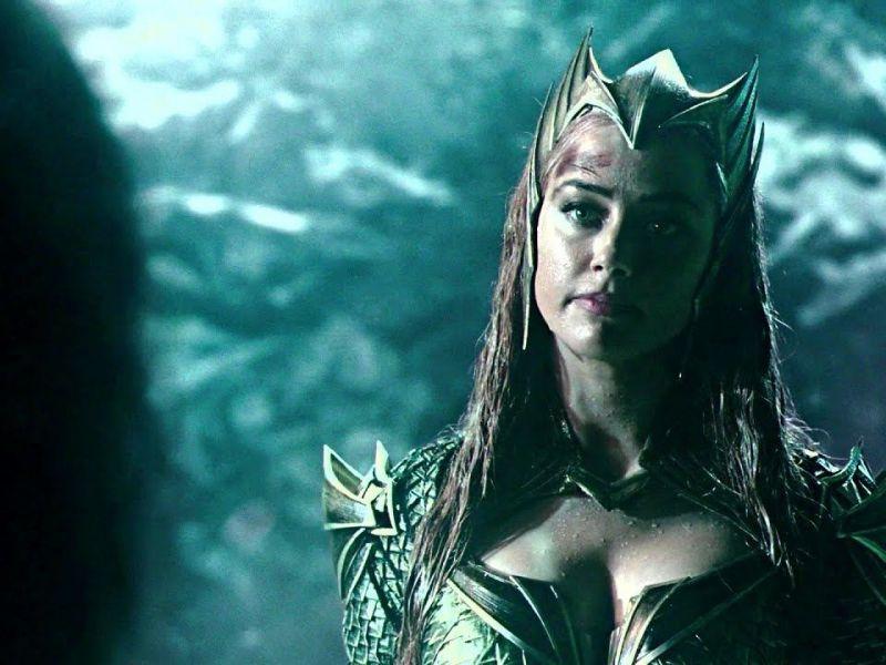 Justice League, Amber Heard sui social: 'Vedo il vostro entusiasmo per il ritorno di Mera'