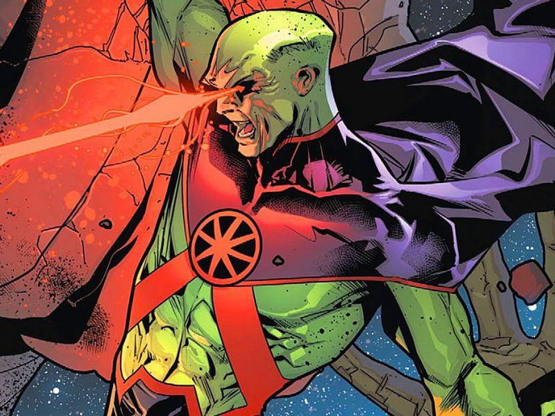 Justice League, una fan art anticipa l'arrivo di Martian Manhunter nella Snyder Cut