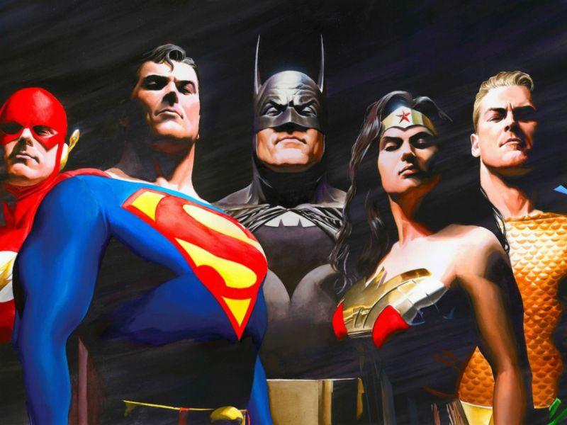 Justice League, una leggendaria illustrazione di Alex Ross omaggia la Snyder Cut!