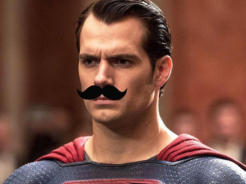 Justice League, nuove immagini del Superman baffuto di Henry Cavill